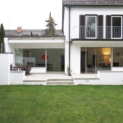 Umbau Doppelhaushälfte