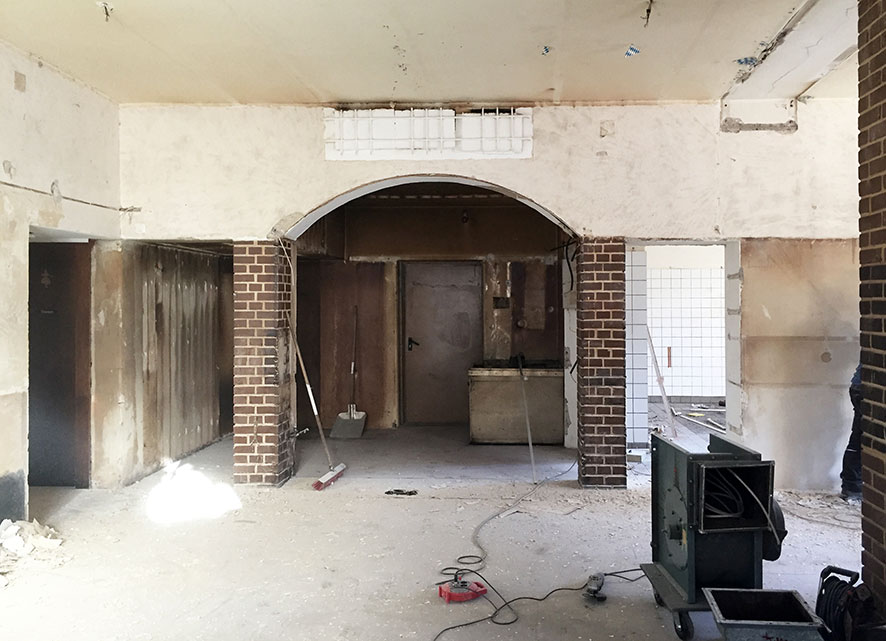 Umbau Workshopraum